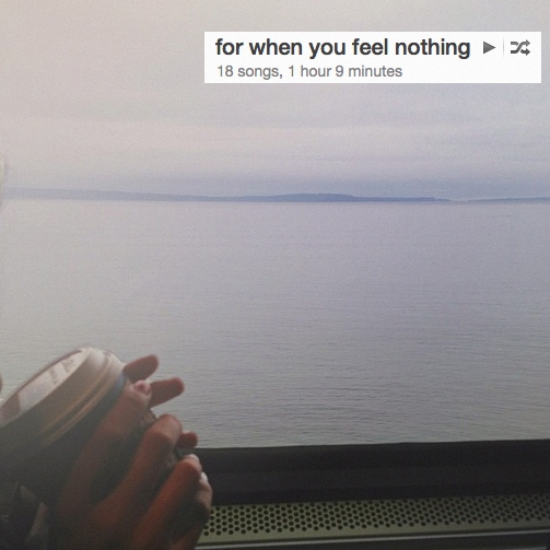 for when you feel nothing