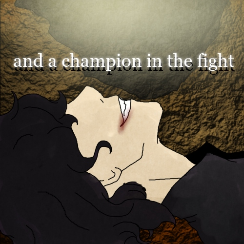 and a champion in the fight