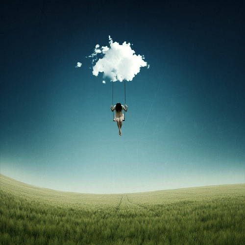 Head in the clouds, but my gravity's centered