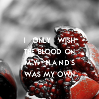 i only wish the blood on my hands was my own