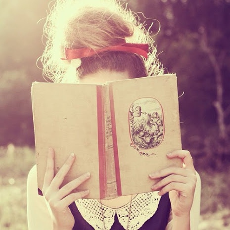 give me a book, and I'll be happy