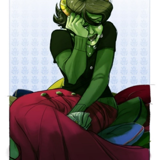 It's been a long day, Kanaya.