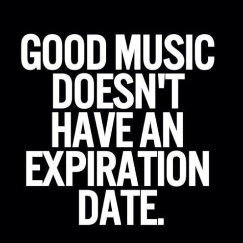 good music doesn't...
