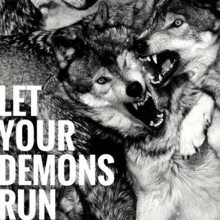 let your demons run