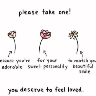 for those who need to feel beautiful<3