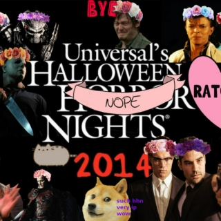 HHN 24: Halloween Horchata Nights