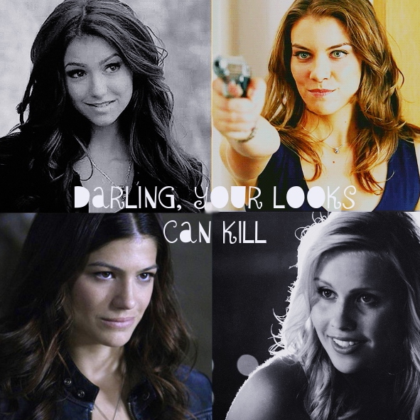 Darling, your looks can kill