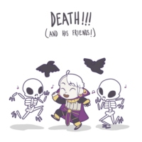 death!!! (and his friends!)