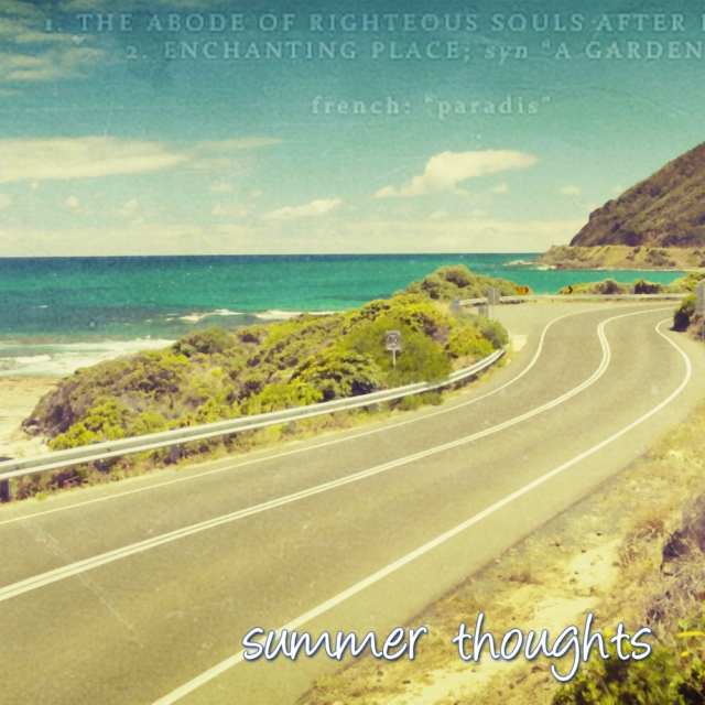 Summer Thoughts
