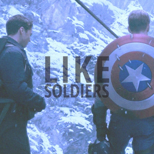 like soldiers