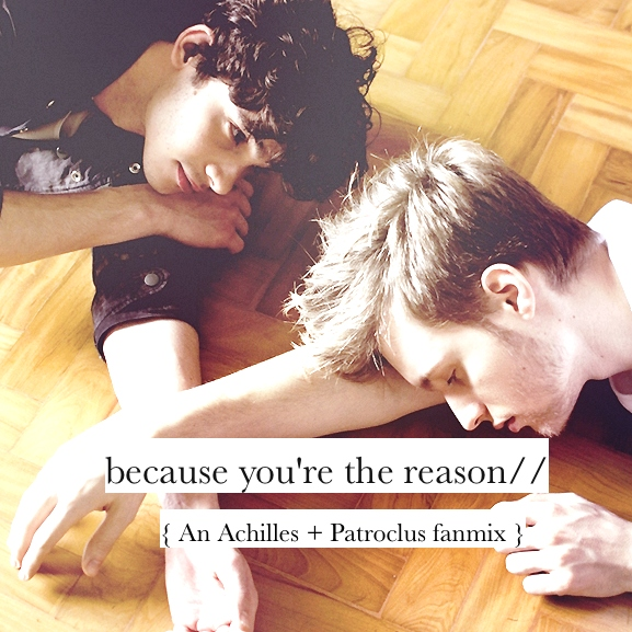 ; because you're the reason //