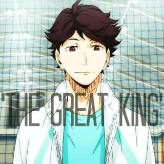 oikawa tooru // ur fav piece of trash