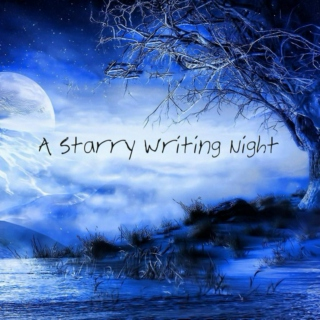 A Starry Writing Night