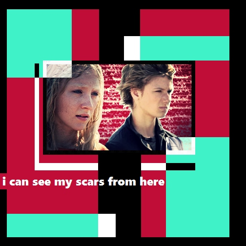 I can see my scars from here