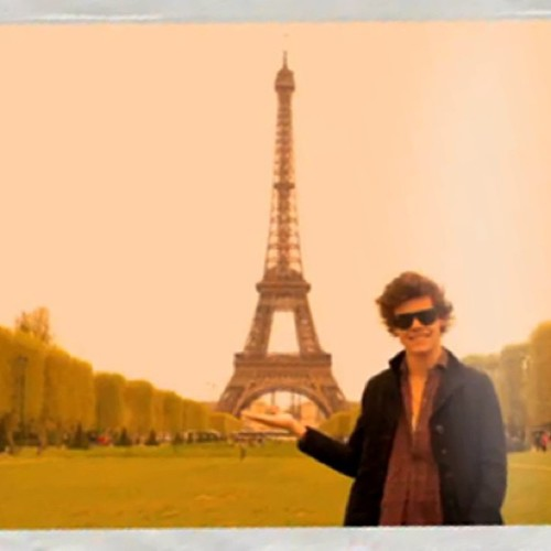 Paris with Harry.