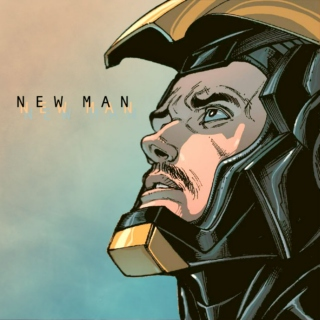 NEW MAN - a tony stark mix