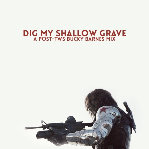 oh, dig my shallow grave.
