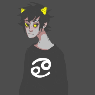karkat is a sad little shit
