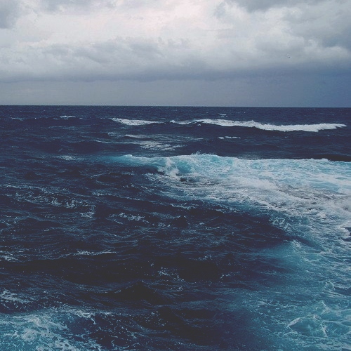 You, the ocean, and me.