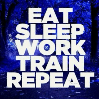 Work hard, train harder