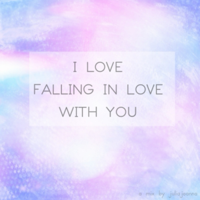 I love falling in love with You