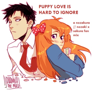 puppy love is hard to ignore - a nozaki x sakura fan mix