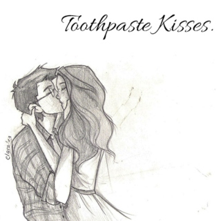 Toothpaste Kisses.