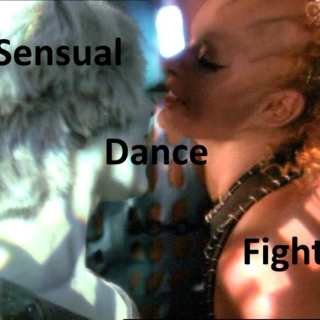 sensual dance fight