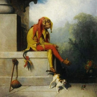 Handkerchief For A King's Laughter Tear By A Jester