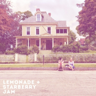 lemonade + strawberry jam