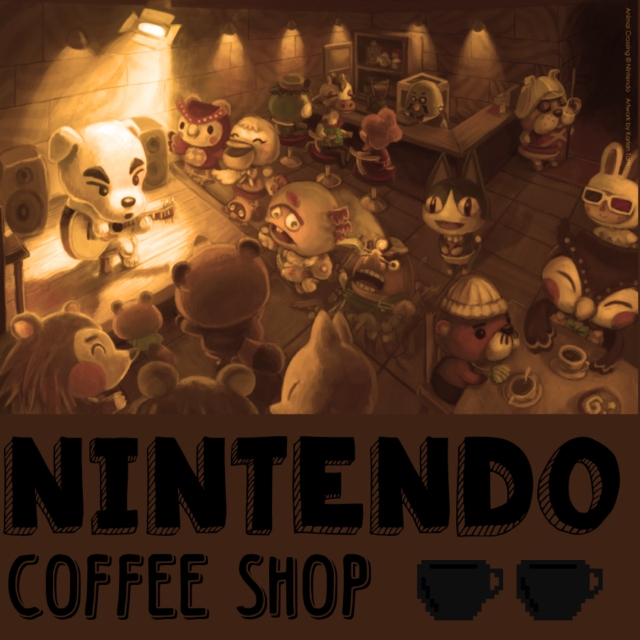 Nintendo Coffee Shop