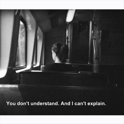 Sometimes I just want to disappear