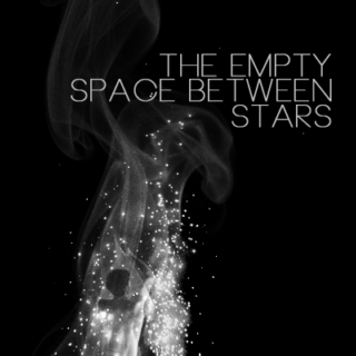 the empty space between stars