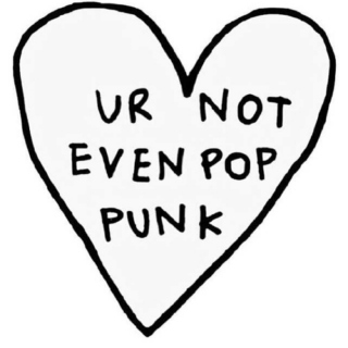 """i do what i want, i'm punk rock."""