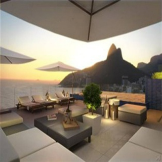 Lounge in Rio.