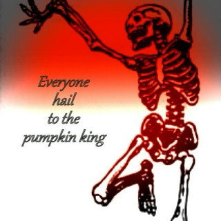 Everyone hail to the pumpkin king