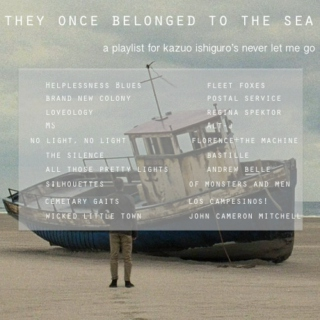they once belonged to the sea