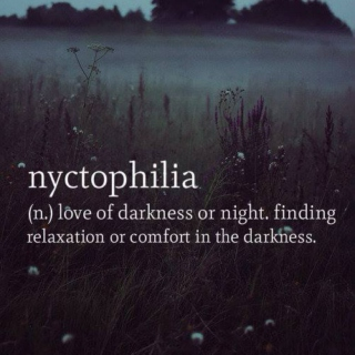 nyctophiliac