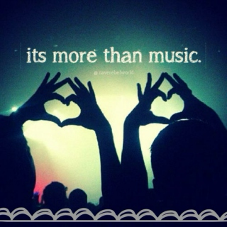 its more than music.