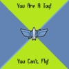 You are a toy! You can't fly!