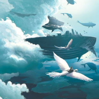 Among the Sky Whales