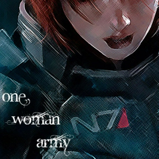 One Woman Army // FemShep