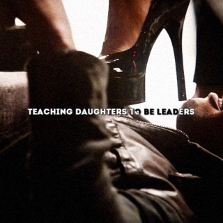 teaching daughters to be leaders
