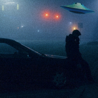 be still, my love, the ufos are watching