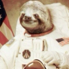 Even in space, sloths are slow