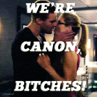 We're canon, bitches! - an Olicity/s3 mix