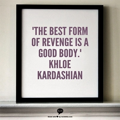& there is nothing i do better than revenge.