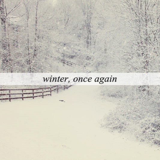 winter, once again