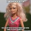 Narcissist Barbie