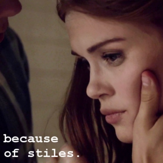 because of stiles.